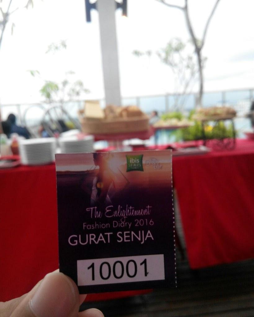 Gurat Senja di Ibis Style Yogyakarta