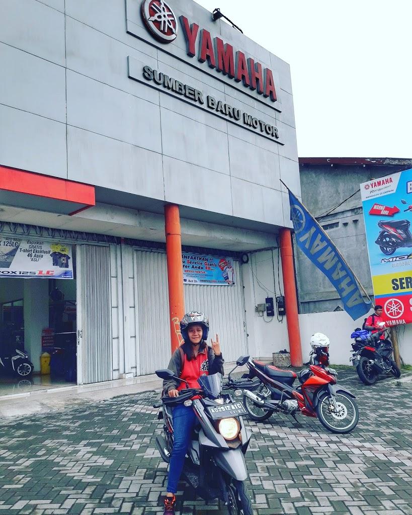 Explore Pantai Sepanjang bareng Yamaha